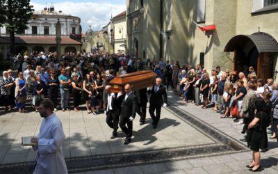 Pogrzeb śp. O. Piotra Matejskiego SJ