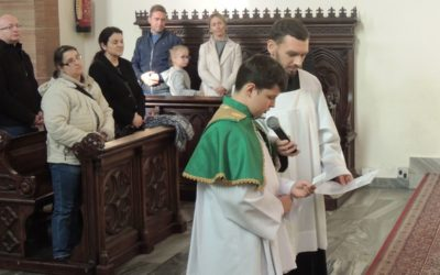 2019: Nowy ministrant