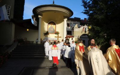 Odpust MBP: Msza wolontariuszy Caritas