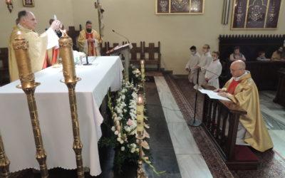 Profesja zakonna ojca Pawła Brożyniaka SJ