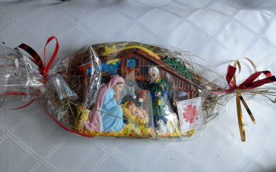 Świąteczne ozdoby Caritas